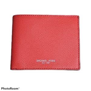 Michael Kors Warren Slim Billfold Wallet